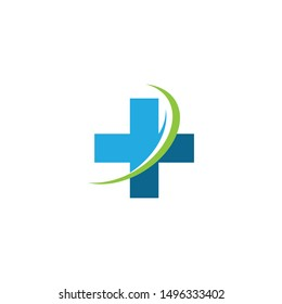 Cross Medical Logo template vector illustration design