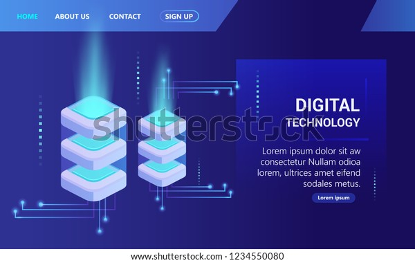 Cross Platform Development Websit Stock Vector (Royalty Free) 1234550080
