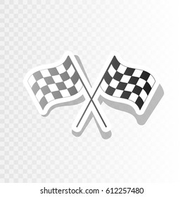 Green /& White Checkered Flag Wavy Pin Badge racing motox gp motorsport NEW