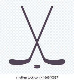 89f35ace7c66 Crossed Ice Hockey sticks