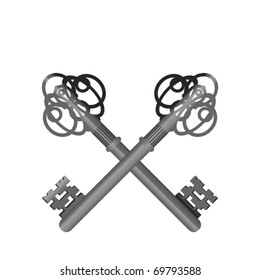 The Crossed Keys - Symbol Of The Papacy
