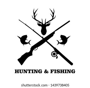 Download Fishing Rod Gun Crossed Images Stock Photos Vectors Shutterstock