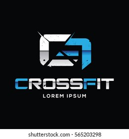 Crossfit Sport Logo Sign Symbol Icon