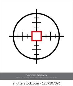 crosshairs, shooters, simple target signs