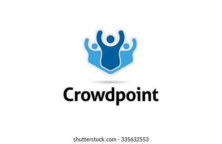 Crowd Point Logo