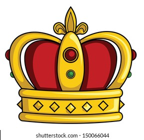 King Crown Cartoon Images Stock Photos Vectors Shutterstock