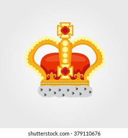 Crown color illustration.