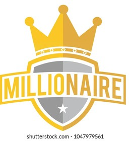Crown of financial powers for the millionaires