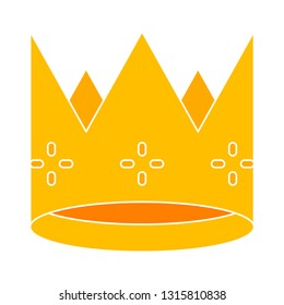 crown icon, king crown illustration - vector royal crown, majestic king crown isolated. kingdom element