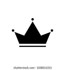 Crown Icon in trendy flat style isolated on grey background. Crown symbol for  web site design, logo, app, UI. Vector illustration.