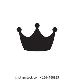 Crown Icon Vector Design Illustration