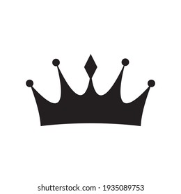 Crown icon vector illustration sign