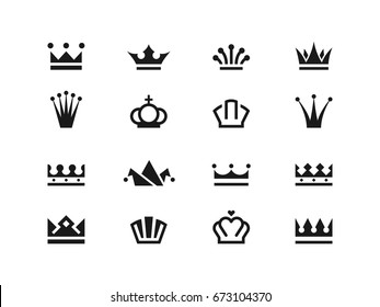 Crown icons   series