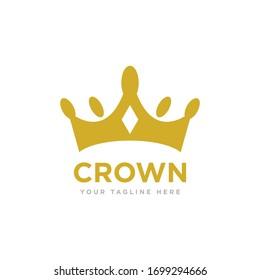 Crown Logo Icon Design Vector