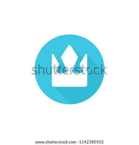 Crown Logo Kingdom Icon Empire Symbol Stock Vector (Royalty
