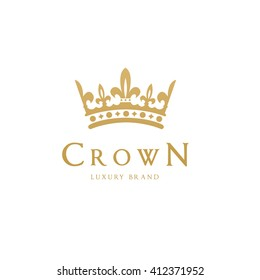 Crown Logo Template.