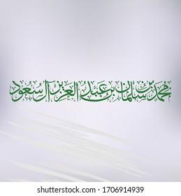 Crown Prince of Saudi Arabia Mohammad bin Salman vector