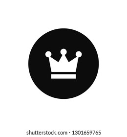Crown rounded icon