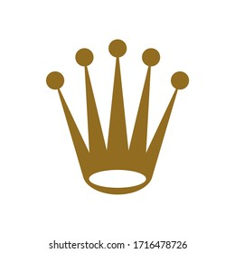crown royal king icon vector template