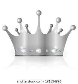 Crown silver crown