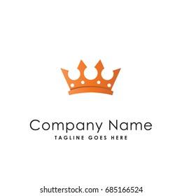 crown logo template vector icon illustration stock vector royalty