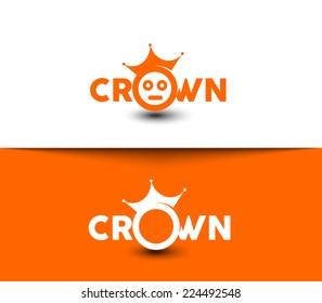 Crown Symbol for Logo Design.