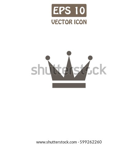 Crown Symbol Your Web Site Design Stock Vector Royalty Free