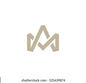 Crown Vector logo in a modern style