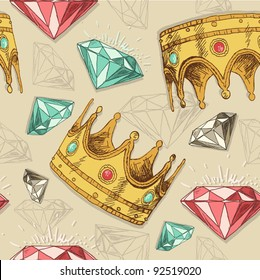 Crowns and diamonds