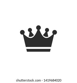 Crowns Icon. Royal Crown Icons Collection. Vintage Crown. Crown Logo Design Vector illustration
