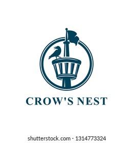 Crows Nest Logo Design