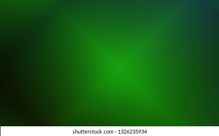 Crreative Dark green and blue color blurred background. Vector illustration. For banner template, flyer, invitation card