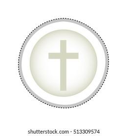 crucifix christian or catholic icon image