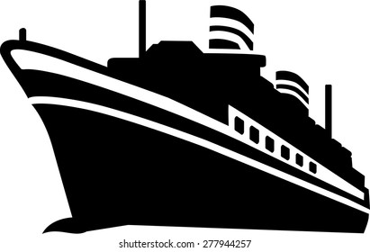 Cruiseship Vector Images Stock Photos Vectors