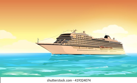 Cruise Ship Images, Stock Photos & Vectors   Shutterstock