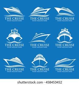 Cruise ship logos