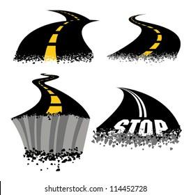 Crumbling Roads