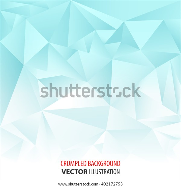 Crumpled Abstract Background Blue White Wallpaper Stock
