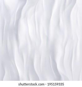 Crumpled white paper, eps 10