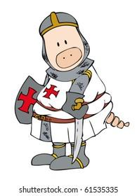 Crusader Pig.