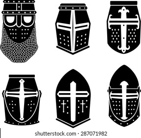 Crusader Warrior Great Helm