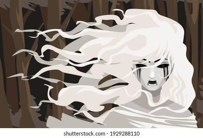 crying banshee folklore mythology ghost
