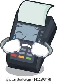 Crying EDC machine in the cartoon shape