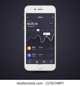 Trading App Ui Images, Stock Photos & Vectors | Shutterstock