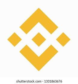 Cryptocurrency icon binance