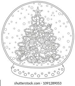 Christmas Clipart Black And White - Clipartion.com