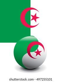 Crystal Ball Flag - Algeria