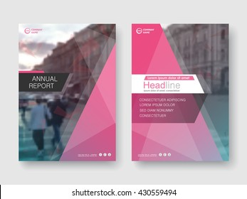 Crystal modern annual report flyer Brochure leaflet, the presentation cover, magazine advertising. cover with an abstract background. vector template layout of A4 format