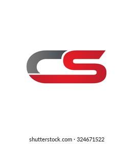 CS company linked letter logo