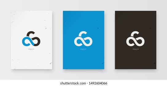 CS logo letters are simple with the concept of 3 circles forming a cloud with the initials CS.